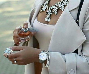fashion, luxury, and necklace image