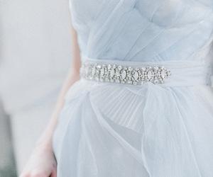 blue, bridal, and dress image