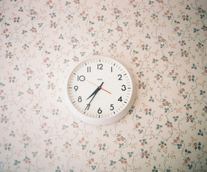 clock, vintage, and hipster image