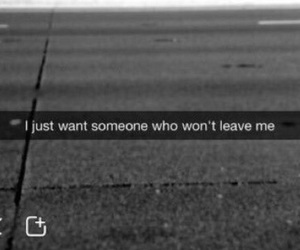 quote, sad, and snapchat image