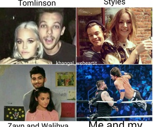 funny, wwe, and 1d image