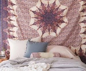 bedroom, boho, and room image