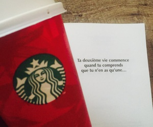 couleur, livre, and starbucks image