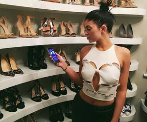kylie jenner, shoes, and jenner image