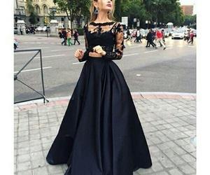 dress and black image