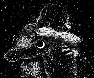 gif, stars, and art image