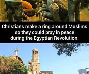 muslim, christian, and respect image