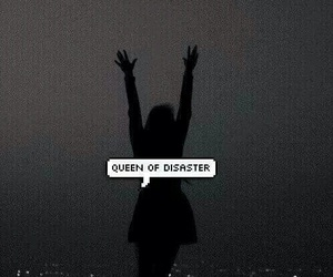 Queen, disaster, and girl image