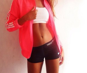 girl, fit, and nike image