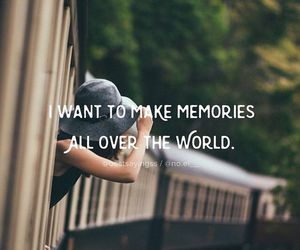 travel, memories, and world image
