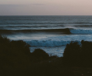 aesthetic, nature, and waves image