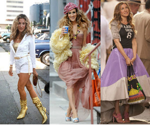 Carrie Bradshaw, sex and the city, and stylé image