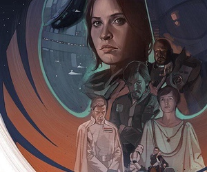 star wars, rogue one, and diego luna image