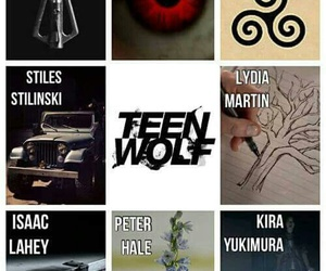 teen wolf, tv show, and werewolf image