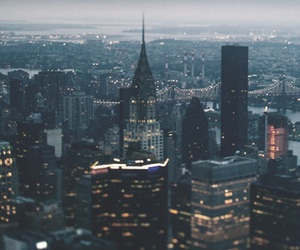 aesthetic, empire state building, and new york image