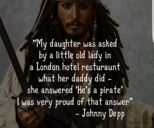 johnny depp, captain jack sparrow, and pirates of the caribbean image