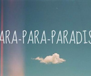 coldplay, paradise, and sky image