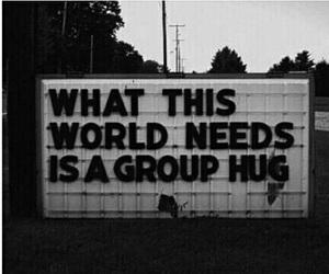 hug, b n w, and black and white image