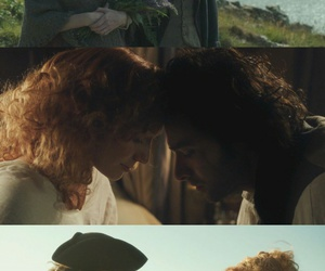 demelza, ross poldark, and poldark image