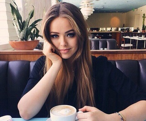 girl, kristina bazan, and beauty image