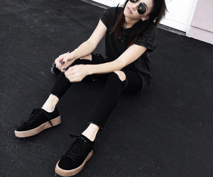 creepers, fashion blogger, and shoe porn image
