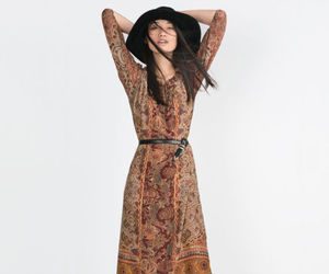 70s, cool, and dress image