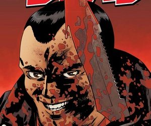 comic, the walking dead, and negan image