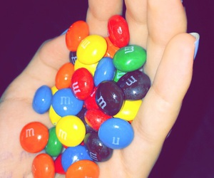 m&m and sweet image