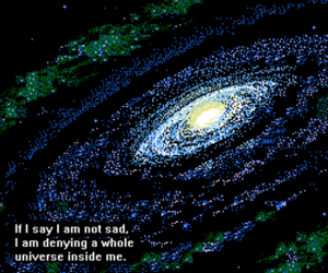 quotes, sad, and universe image