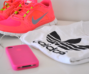 adidas, nike, and iphone image