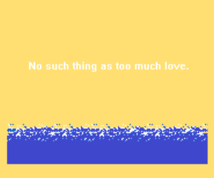 pixel, quote, and yellow image