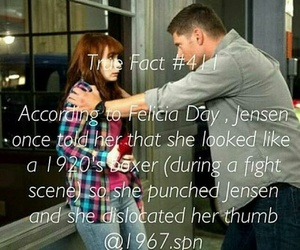 charlie, dean winchester, and Felicia Day image