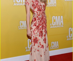 Taylor Swift, dress, and red carpet image