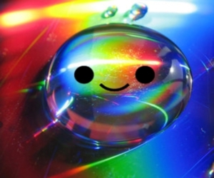 colors, happy, and smile image