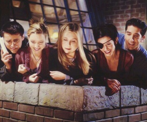 friends, f.r.i.e.n.d.s, and funny image