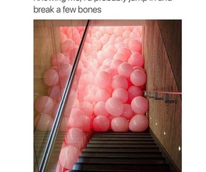 balloons, funny, and lol image