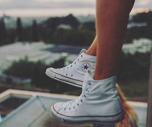 converse, white, and grunge image