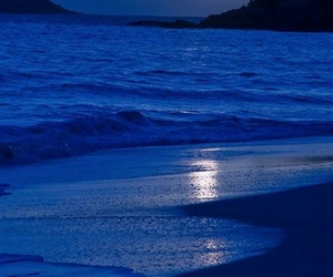beach, blue, and sea image