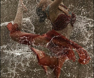 rain, dance, and dancer image