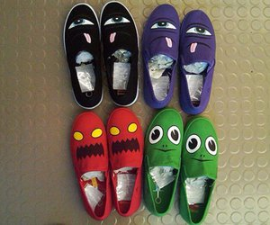 monster and shoes image