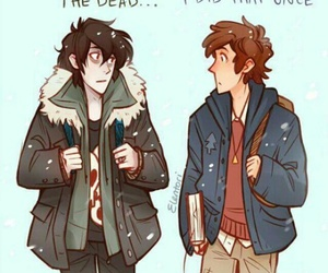 nico di angelo, gravity falls, and dipper pines image