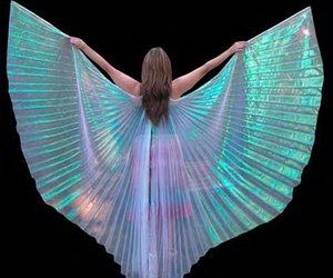 girls, girly, and wings image