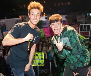 camerondallas and aaroncarpenter image