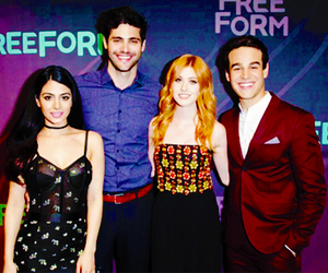 shadowhunters, katherine mcnamara, and emeraude toubia image