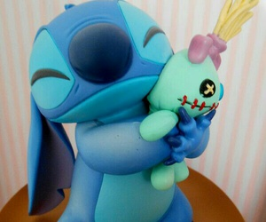 cake, stitch, and stich image