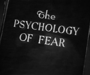 fear, book, and psychology image