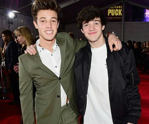 cameron dallas, aaron carpenter, and magcon image