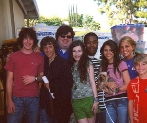 2000s, cast, and on set image