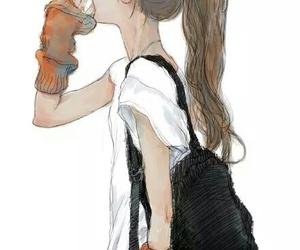 anime, art, and drawing image