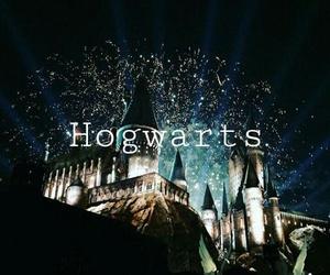 gryffindor, hogwarts, and slytherin image